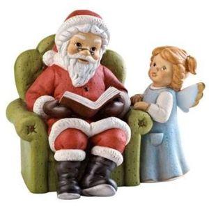 Goebel Nina & Marco Santa Figurine - A Christmas Story