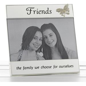 "Message Photo Frame 6"" x 4"" - Friends"