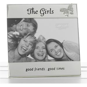 "Message Photo Frame 6"" x 4"" - The Girls"