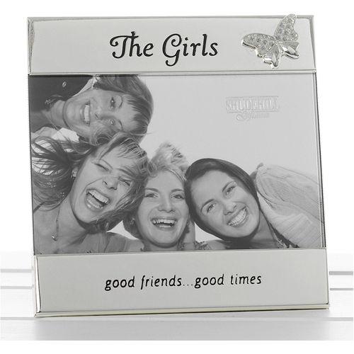 The girls friendship photo frame