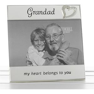 "Message Photo Frame 6x4"" - Grandad"