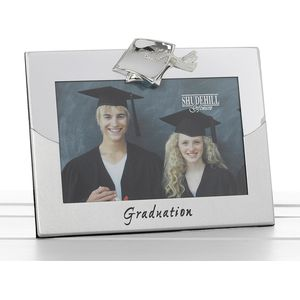 "Two Tone Photo Frame 6"" x 4"" - Graduation"