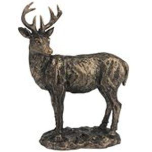 Gleneagles Studio Gallery Collection Bronze Effect Figurine - Stag