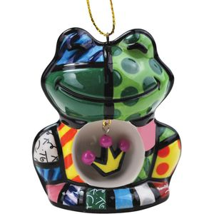 Romero Britto Frog Hanging Ornament