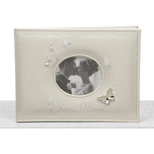 Butterfly Luxury Wedding Guest Book