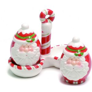 Santa Salt & Pepper Pots