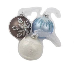 Set of 12 Alpine Design Christmas Tree Decorations