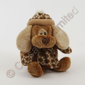Cute Puppy Dog Soft Toy check light ears