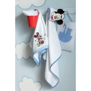 Disney Mickey Sailor Cuddle Towel Bath Robe 72cm x 72cm