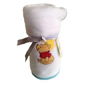 Disney Poohs Sunny Day Fleece Blanket 100cm x 150cm