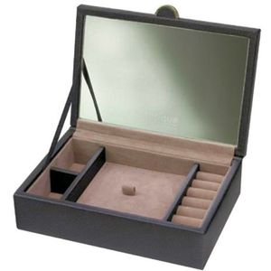 Boutique - Small Black Lidded Jewellery Box