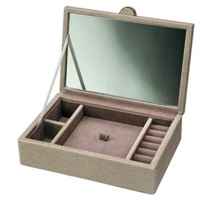 Boutique - Small Mink Lidded Jewellery Box