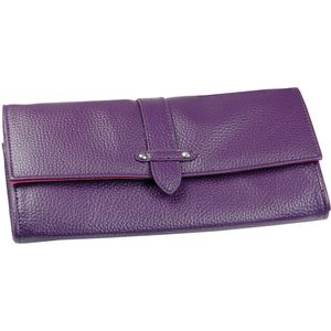 Boutique - Purple Travel Wallet