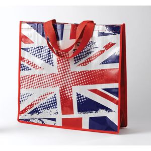 PVC Shopper Bag - Union Jack Design