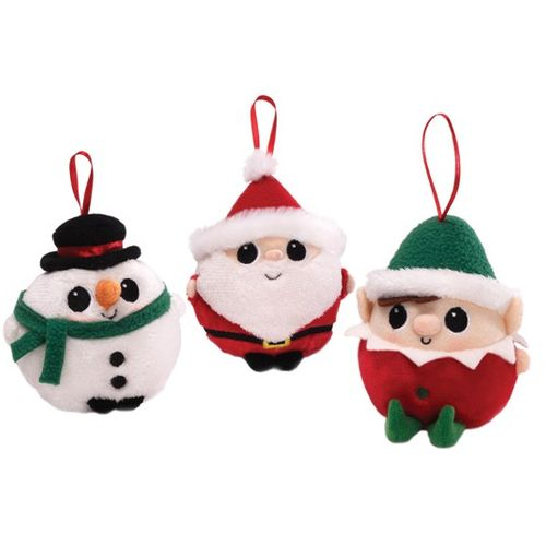 GUND Christmas Jeepers Peepers Ornaments (Set of 3) Ref 4028764