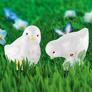 Lenox Butterfly Meadow Chick Salt & Pepper Set