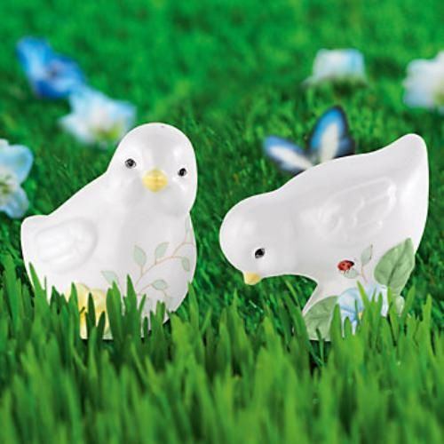 Lenox Butterfly Meadow Chick Salt & Pepper Set Ref 811422