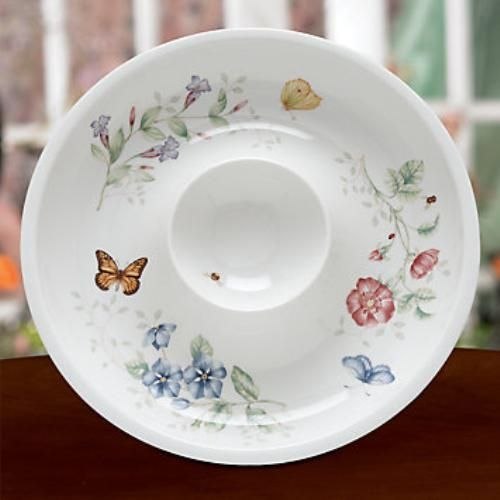 Lenox Butterfly Meadow Chip & Dip Dish Ref 803588