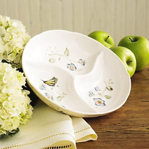 Lenox Butterfly Meadow Divided Dish Ref 6444681