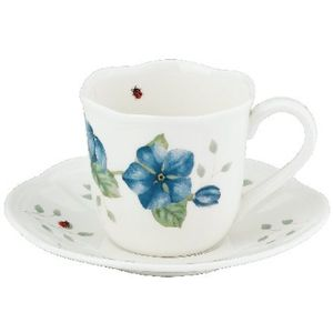 Lenox Butterfly Meadow Espresso Cup & Saucer