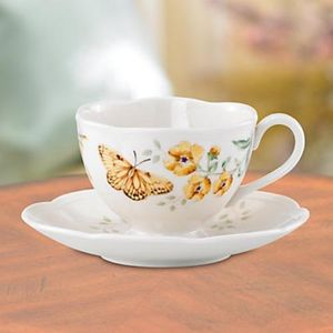 Lenox Butterfly Meadow - Fritillary Cup & Saucer