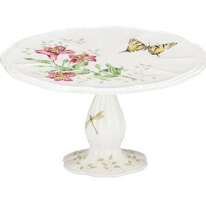Lenox Butterfly Meadow Pedestal Cake Plate 8.0