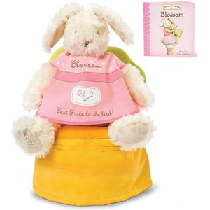 Bunnies by the Bay Blossom & Book Gift Set