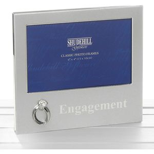 "Engagement Photo Frame 6x4"""