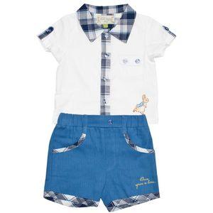 Peter Rabbit Boys Shorts and Shirt Set 3-6 months