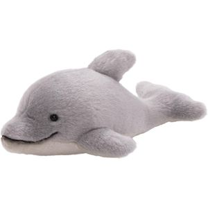 GUNDimals Pale Grey and White Dolphin Soft Toy