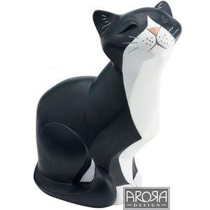 My Pedigree Pals Black & White Cat Sitting Figurine