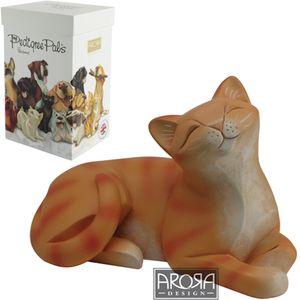 My Pedigree Pals Ginger Tabby (Lying) Figurine