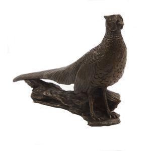 Oriele Cold Cast Bronze Figurine - Pheasant