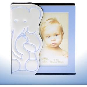 Baby Photo Album - Blue Elephant Design