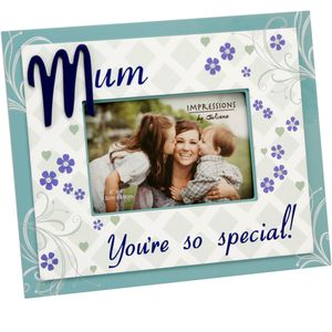 "Juliana Impressions Sentiment Photo Frame 6"" x 4"" - Mum Youre So Special"