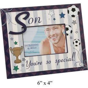 "Son Youre so special Photo Frame 6"" x 4"""