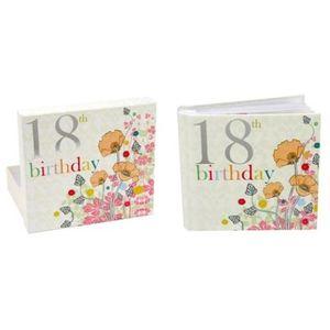 "18th Birthday Photo Album by Laura Darrington 6x4"""