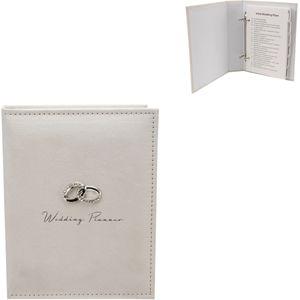 Amore Cream Suede Wedding Planner