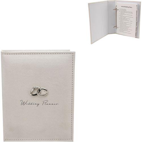 Amore Cream Suede Wedding Planner Ref WG293