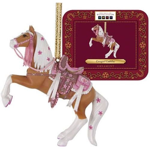 The Trail of the Painted Ponies - Cowgirl Cadillac Hanging Ornament