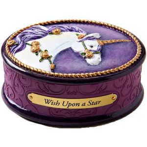The Trail of Painted Ponies Keepsake Trinket Box - Wish Upon a Star