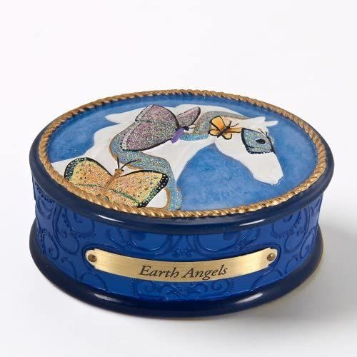 The Trail of the Painted Ponies - Earth Angels Trinket Box