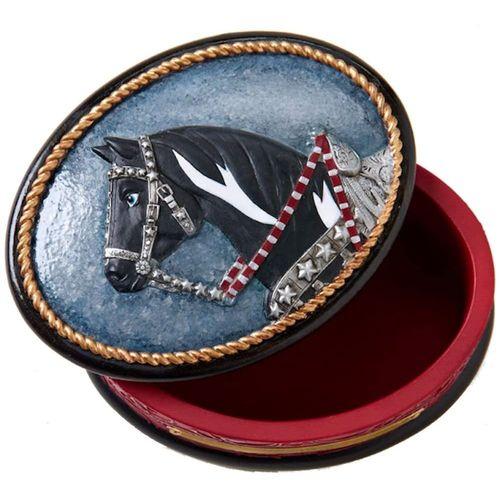The Trail of the Painted Ponies - Silverado Trinket Box