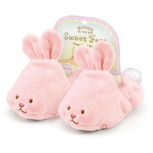 Bunnies by the Bay Sweet Feet Baby Slippers - Hoppy Feet (Age 3-6 Months)