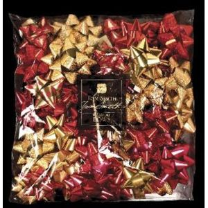 Tom Smith 40 Luxury Red & Gold Gift Bows