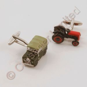 Land Rover & Tractor Cufflinks