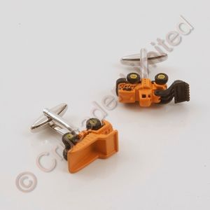 Digger & Tipper Lorry Cufflinks