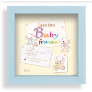 Baby Keepsake Box Photo Frame (Blue)