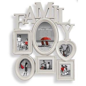 Family Multi Shabby Chic Photo Frame