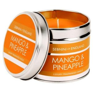 Mango & Pineapple Roomscenter Candle in Tin